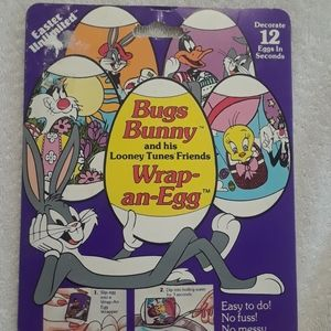 Vintage Looney tunes Easter wrap an egg